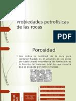Propiedades Petrofísicas de Las Rocas