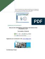 Evidencia Telefonia IP