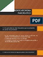 Adenocarcinoma Pancreatico