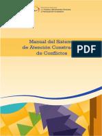 Manual Del Sistema de Atención Constructiva de Conflictos