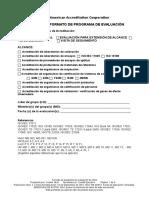 Formato de Programa Evaluacion