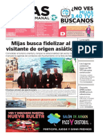 Mijas Semanal Nº670 del 22 al 28 de enero de 2016