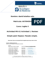 MII U1Actividad1.ReviewSimplepastRepasoPasadosimple.