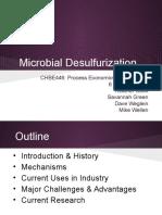 Microbial Desulfurization