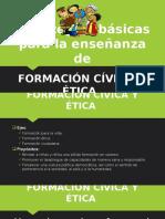 Estrategias de enseñanza de F.C. y E.