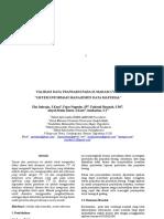 Paper Penggalian Data