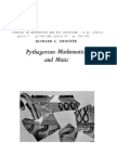 Crocker - Pythagorean mathematics and Music