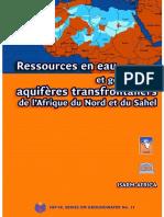Ressources en Eau Et Gestion Des Aquifères Transfrontaliers de l'Afrique Du Nord Et Du Sahel - Analyse Globale