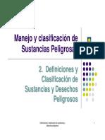 2. Definiciones y Clasificación de Sustancias y Desechos Pa (1)