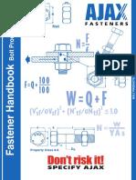 Ajax Fastener Handbook