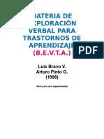Manual Batería Bevta