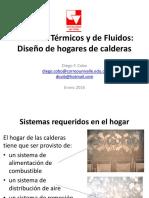 Clase VII Diseño de Hogar de Calderas