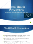 nurs 464 global health presentation final