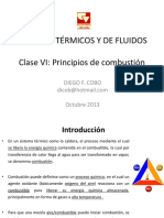 Clase VI Combustion
