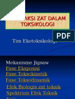 Interaksi Zat Toksik 2012
