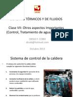 Clase VII Control y Otros