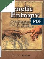 Genetic Entropy - Dr. J.C. Sanford