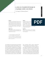 perspectivas y retos en el estudio del manejo de ecosistemas