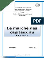 Marché Des Capitaux Au Maroc