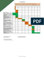 Cronograma Plan de Desarrollo