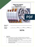 Guía N°3 Caja de Cambios power shift ejes colineales