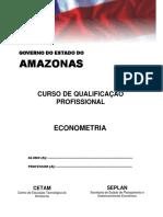 Curso de Qualificação Profissional - Econometria