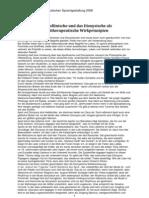 Dr HP Fiechter Vortrag Vom 20081025 Das Apollinische Und Das Dionysische Als Kunsttherapeutische Wirkprinzipien