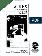 Exam P Actex