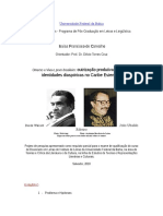 Exemplo de Anteprojeto Para Doutorado
