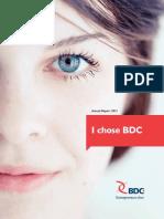 BDC AnnualReport 2013