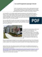 Comment concevoir un aménagement paysager devant votre maison