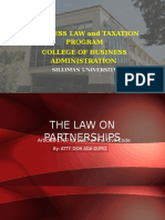 Partnership General Provisions