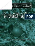 Mind's Eye Theater - Laws of the Hunt Players Guide