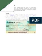 Documentos de Crédito Y COMERCIALES
