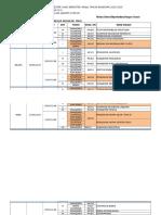 Jadwal UAS Semester Ganjil 2015-2016