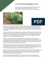 Suggestions experts sur le jardinage biologique et vous