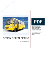 Design of Leaf Springprint