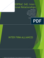 Professional Inter-Relationships - Group 3