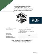 Buku Jurnal Siswa Prakerin SMK