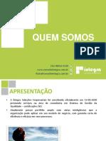 Portfólio Íntegra Soluções - Aprimorando a gestão de sua organização e inspirando Cartórios a buscar a Excelência na Gestão!