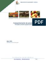 Guatemala Informe Semanal de Precios Del 24 Al 30 de Julio 2015