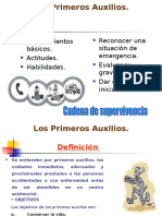 PRIMEROS AUXILIOS 2013.