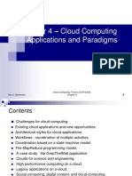 Cloud Computing Applications and Paradigms
