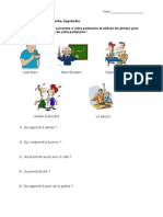 FR II Prendre Partner Activity