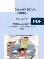 Physical and Sexual Abuse (Kuliah Power Point Blok 2)