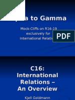 International Relations Primer 01