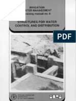 Structures for Water Control and Distribution