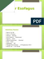 Slide Tumor Esofagus