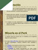 actividad_minera Peru PPT