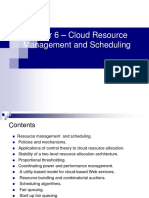 Cloud Resource Management and Scheduling